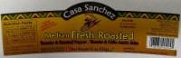 Casa Sanchez Medium Fresh Roasted Salsa