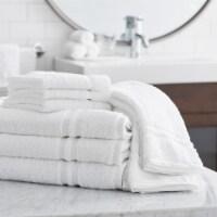 Member's Mark Commercial Washcloth, White (Set of 24) - 1 unit