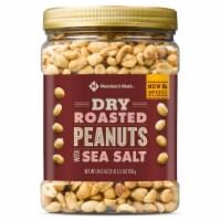 Member's Mark Dry Roasted Peanuts with Sea Salt (34.5 Ounce) - 1 unit