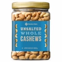 Member's Mark Unsalted Whole Cashews (33 Ounce) - 1 unit