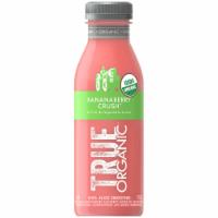 True Organic Bananaberry Crush Fruit & Vegetable Juice Smoothie - 12 fl oz