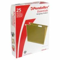 Pendaflex Essentials Letter Size Hanging 5-Tab File Folders