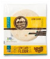 Low Carb Flour Fajita Tortillas - 6