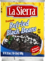 La Sierra Refried Black Beans