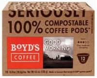 Boyd's Coffee Good Morning Coffee Single Serve Cups