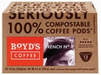 Boyd's Coffee French # 6 Single Serve Cups
