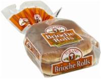 Turano Brioche Sandwich Rolls - 6 ct / 16 oz