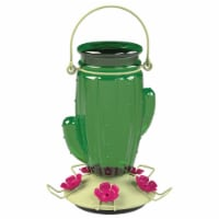 Perky-Pet Glass Cactus Top Fill Hummingbird Feeder