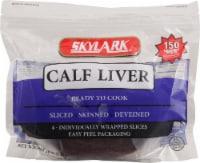 Skylark Calf Liver Slices 4 Count