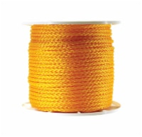 Wellington 3/8 in. Dia. x 500 ft. L Yellow Diamond Braided Poly Rope - Case Of: 1; Each Pack - Count of: 1