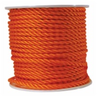 Wellington 1/2 in. Dia. x 300 ft. L Orange Twisted Poly Rope - Case Of: 1; Each Pack Qty: 1; - Count of: 1