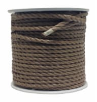 Wellington 1/2 in. Dia. x 300 ft. L Brown Twisted Poly Rope - Case Of: 1; Each Pack Qty: 1; - Count of: 1