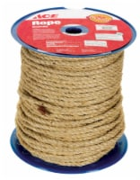 Wellington 3/8 in. Dia. x 365 ft. L Tan Twisted Sisal Rope - Case Of: 1; Each Pack Qty: 1; - Count of: 1