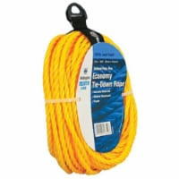 Wellington 1/4 in. Dia. x 50 ft. L Yellow Twisted Polypropylene Rope - Case Of: 1; - Count of: 1