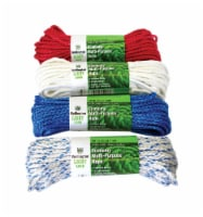 Wellington Diamond Braided Polypropylene Rope Display - Case Of: 1; Each Pack Qty: 1; - Count of: 1