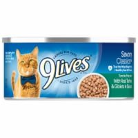 9Lives® Savory Classics™ Tender Morsels with Real Turkey & Giblets in Sauce Wet Cat Food - 5.5 oz