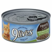 9Lives Hearty Cuts With Real Chicken & Fish Wet Cat Food