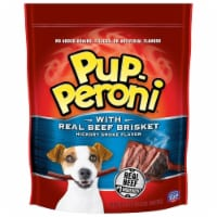 Pup-Peroni Dog Treats with Real Beef Brisket, Hickory Smoked Flavor, 50 Ounce - 1 unit