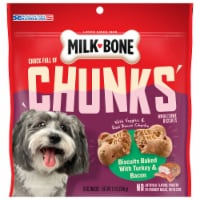 Milk-Bone Chock Full of Chunks Turkey & Bacon Dog Treats - 12 oz