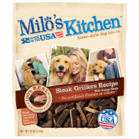 Milo's Kitchen Steak Grillers Dog Treats