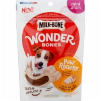 Milk-Bone Chicken Paw Rockers Wonder Bones Mini Dog Treats