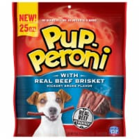 Pup-Peroni with Real Beef Brisket Hickory Smoke Dog Treats