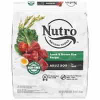 Nutro™ Natural Choice Lamb & Brown Rice Recipe Adult Dry Dog Food - 30 lb