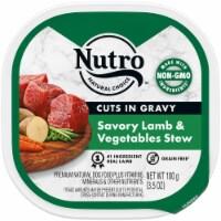 Nutro Grain Free Lamb & Vegetables Stew Cuts in Gravy Wet Dog Food