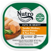 Nutro Grain Free Cuts in Gravy Chicken Sweet Potato & Pea Stew Wet Dog Food