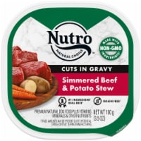 Nutro Grain Free Beef & Potato Stew Cuts in Gravy Wet Dog Food