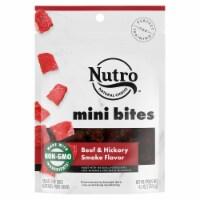 Nutro Beef & Hickory Smoke Flavored Mini Bites Dog Treats - 4.5 oz
