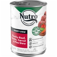 Nutro Hearty Beef Tomato Carrot & Pea Stew Wet Dog Food