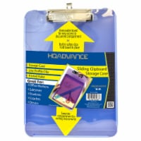 HQ Advance Sliding Clipboard with Storage Case - Blue - 1 ct