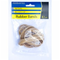 HQ Advance #64 Rubber Bands - Tan