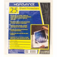HQ Advance Sheet Protectors - Crystal Clear