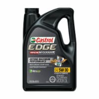 Castrol Edge High Mileage SAE 5W-30 Advanced Synthetic Motor Oil