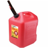 Midwest Can FlameShield Safety System Plastic Gas Can 6 gal. - Case Of: 1;