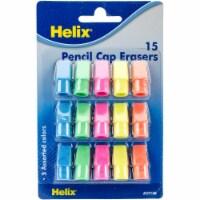 Pencil Cap Erasers-15/Pkg - 1