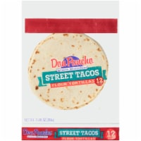 Don Pancho White Four 5 in Street Taco Tortillas - 12 ct