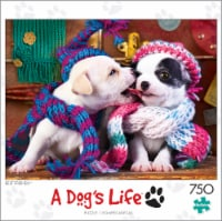 Buffalo Games A Dog's Life Best Friends Puzzle