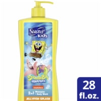 Suave Kids SpongeBob SquarePants Nickelodeon Jellyfish Blast Shampoo and Body Wash
