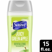Suave Essentials Juicy Green Apple Revitalizing Shampoo