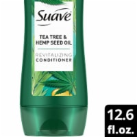 Suave® Professionals Paraben-Free Tea Tree Hemp Seed Oil Conditioner for Oily Hair - 12.6 fl oz