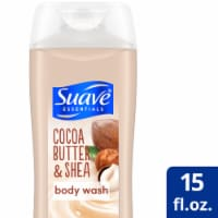 Suave Essentials Cocoa Butter & Shea Creamy Body Wash