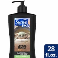 Suave Kids Star Wars Galactic Fresh 3-in-1 Shampoo Conditioner and Body Wash