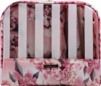 Sophia Joy Floral Wristlet Makeup Bag 3 Piece