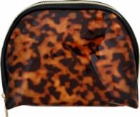 Sophia Joy Round Top Cosmetic Bag - Tortoise