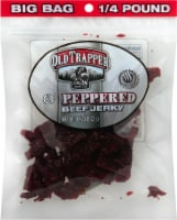 Old Trapper Peppered Beef Jerky - 4 oz