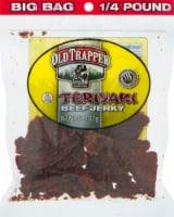 Old Trapper Teriyaki Beef Jerky - 4 oz