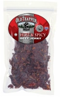 Old Trapper Hot & Spicy Beef Jerky - 10 oz